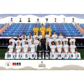 Real Madrid plakát Squad 22