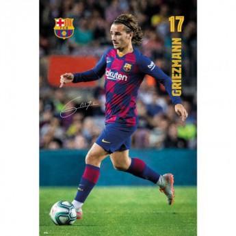 FC Barcelona plakát Griezmann 3