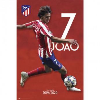 Atletico Madrid plakát Joao Felix 27