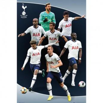 Tottenham Hotspur plakát Poster Players 5