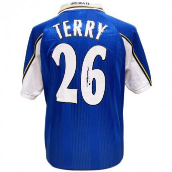 Legendy fotbalový dres Chelsea FC Terry 1998 Signed Shirt