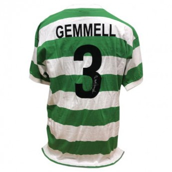 Legendy fotbalový dres Celtic FC Gemmell 1967 Signed Shirt