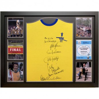 Legendy zarámovaný dres Arsenal FC 1971 Double Winners Signed Shirt (Framed)