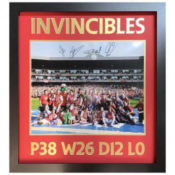 Legendy obrázek v rámečku Arsenal FC 2004 Invincibles Signed Framed Print