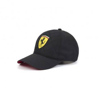 Ferrari čepice baseballová kšiltovka black Quilt Stitch F1 Team 2019