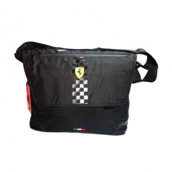 Ferrari taška na rameno black messenger F1 Team 2019