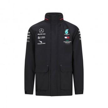 Mercedes AMG Petronas pánská bunda rain black F1 Team 2020