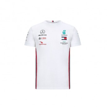 Mercedes AMG Petronas pánské tričko white F1 Team 2020