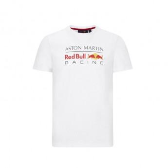 Red Bull Racing pánské tričko logo white F1 Team 2020
