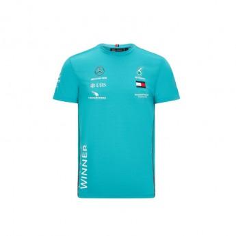 Mercedes AMG Petronas pánské tričko race winner green F1 Team 2020