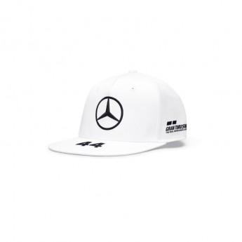 Mercedes AMG Petronas čepice flat kšiltovka Lewis Hamilton white F1 Team 2020