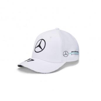 Mercedes AMG Petronas čepice baseballová kšiltovka Valtteri Bottas white F1 Team 2020