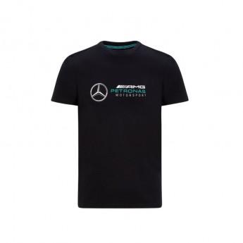 Mercedes AMG Petronas pánské tričko logo black F1 Team 2020