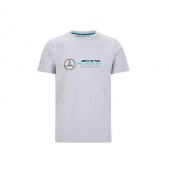 Mercedes AMG Petronas pánské tričko logo grey F1 Team 2020