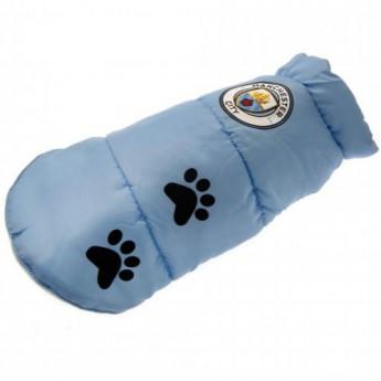 Manchester City psí kabátek Dog Coat Large
