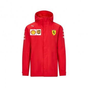 Ferrari pánská bunda s kapucí rain red F1 Team 2020