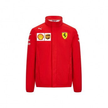 Ferrari pánská bunda softshell red F1 Team 2020