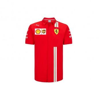 Ferrari pánská košile red F1 Team 2020