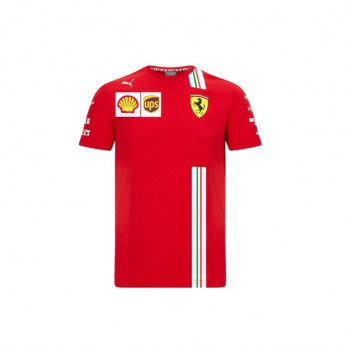 Ferrari pánské tričko Leclerc red F1 Team 2020