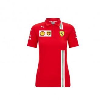 Ferrari dámské polo tričko red F1 Team 2020
