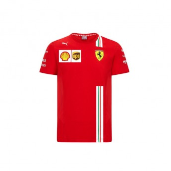 Ferrari dětské tričko red F1 Team 2020