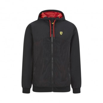 Ferrari pánská bunda s kapucí Windbreaker black F1 Team 2020