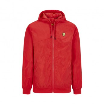 Ferrari pánská bunda s kapucí Windbreaker red F1 Team 2020