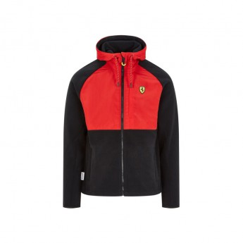 Ferrari pánská bunda s kapucí Fleece black F1 Team 2020