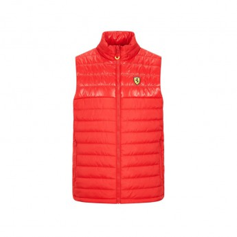 Ferrari pánská vesta padded gilet red F1 Team 2020