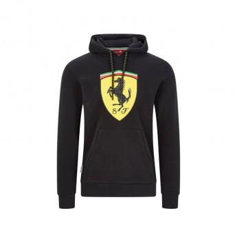Ferrari pánská mikina s kapucí shield black F1 Team 2020