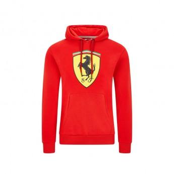 Ferrari pánská mikina s kapucí shield red F1 Team 2020