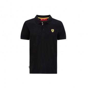 Ferrari pánské polo tričko classic black F1 Team 2020