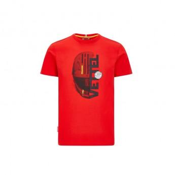 Ferrari pánské tričko Vettel driver red F1 Team 2020