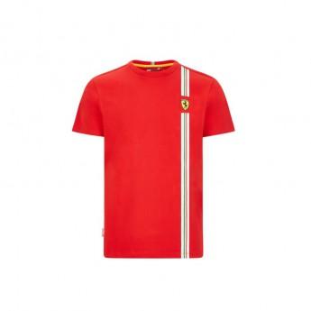 Ferrari pánské tričko Italian flag red F1 Team 2020