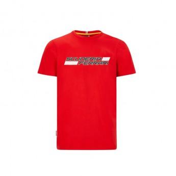 Ferrari pánské tričko logo red F1 Team 2020