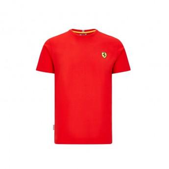 Ferrari pánské tričko small logo red F1 Team 2020
