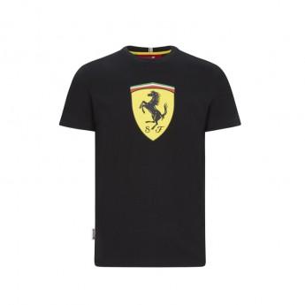 Ferrari pánské tričko large shield black F1 Team 2020