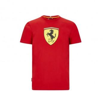 Ferrari pánské tričko large shield red F1 Team 2020
