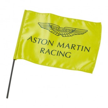 Aston Martin vlajka lime green F1 Team 2019