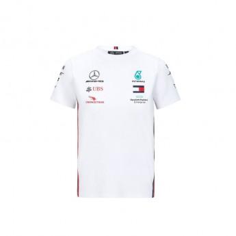 Mercedes AMG Petronas dětské tričko white F1 Team 2020