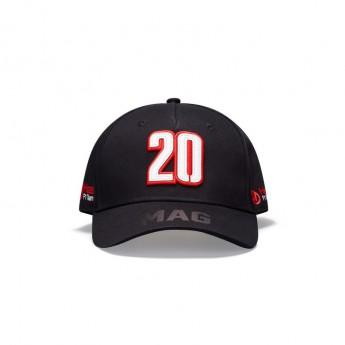 Haas F1 čepice baseballová kšiltovka Magnussen black F1 Team 2020