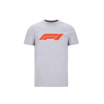 Formule 1 pánské tričko logo grey 2020
