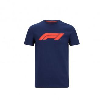 Formule 1 pánské tričko logo navy blue 2020