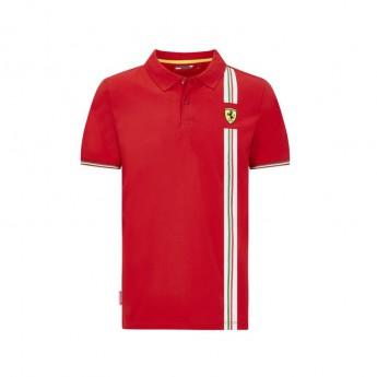 Ferrari pánské polo tričko Italian flag red F1 Team 2020