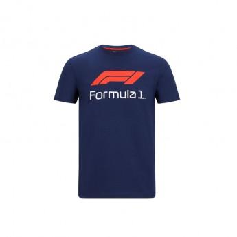 Formule 1 pánské tričko No. 1 navy blue 2020