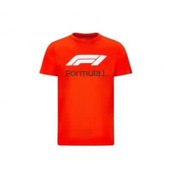 Formule 1 pánské tričko No. 1 red 2020