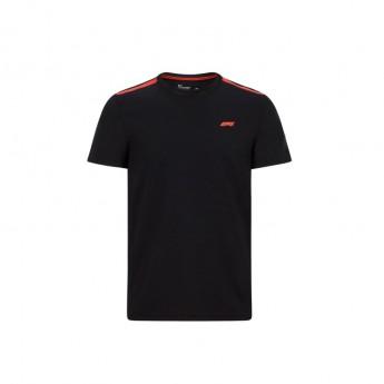 Formule 1 pánské tričko tech black 2020