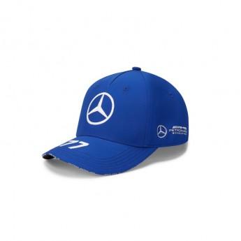 Mercedes AMG Petronas čepice baseballová kšiltovka Valtteri Bottas blue F1 Team 2020