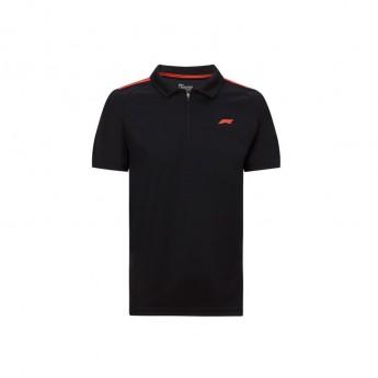 Formule 1 pánské polo tričko Tech black 2020