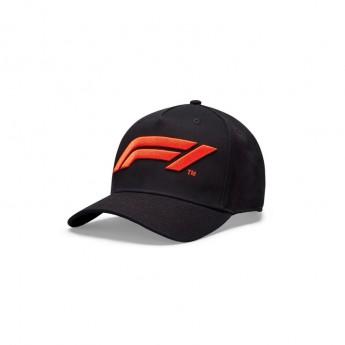 Formule 1 čepice baseballová kšiltovka logo black 2020